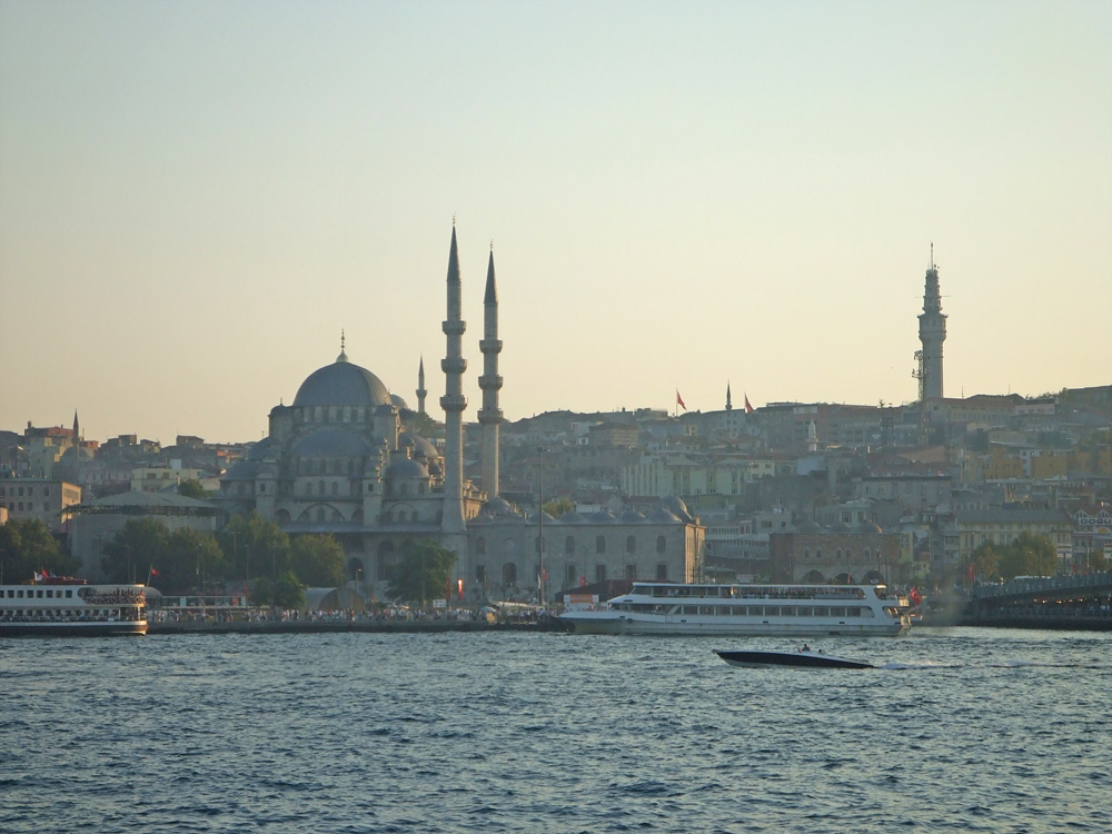 Blick-auf-Kulisse-Istanbuls